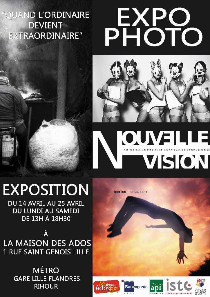 Expo photo quand l 39 ordinaire devient extraordinaire la for Maison des ados lille
