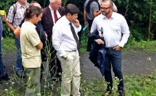Patrick Kanner en visite estivale des terrils de Roost-Warendin
