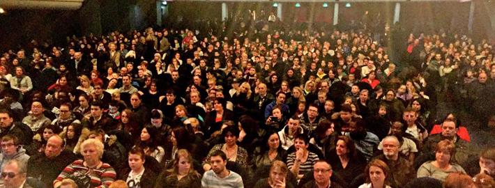 1001 jeunes, parents, bénévoles réunis grâce au Lion's Club pour un concert de Jazz