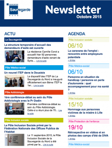 news sauv octobre 2015