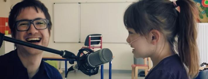AERO EASY TOUR 3ème édition : les enfants de l'IEM Lino Ventura donnent de la voix