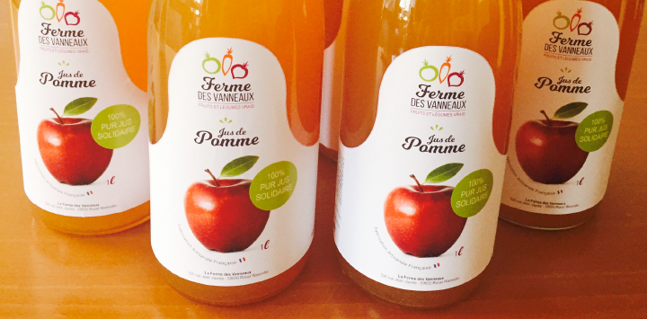 Le Jus de Pomme de la Ferme des Vanneaux certifié bio