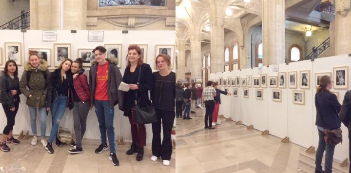 Exposition photo sur l'atelier « esthétisme bien-être » du SAJ de Phalempin