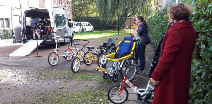 « Un après-midi autrement », organisé par le groupement Polycap au dispositif ITEP de Lambersart