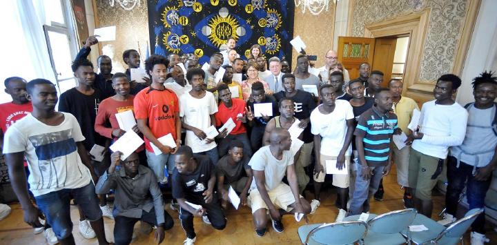 Les 42 soudanais accueillis par notre STADA obtiennent le statut de réfugiés