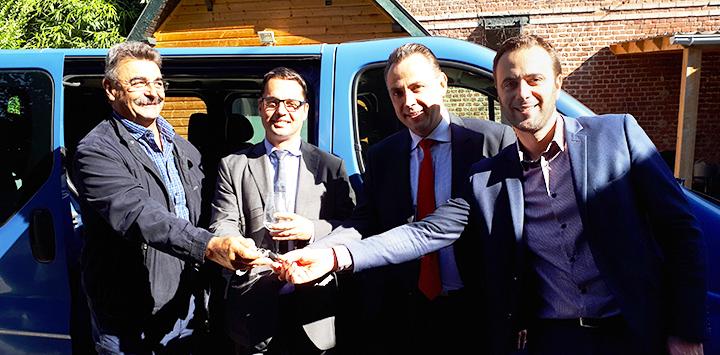 Un nouveau véhicule pour la plateforme Douai / Cambrai grâce à Transdev