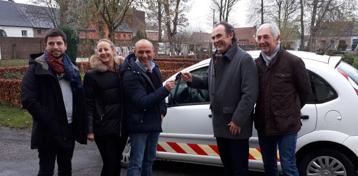Un nouveau véhicule à La Ferme des Vanneaux grâce à la SANEF