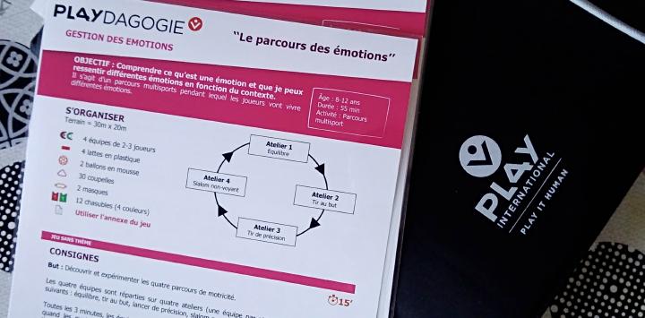 """La """"Playdagogie"""", une pédagogie alternative développée par Play International se développe à La Sauvegarde du Nord"""