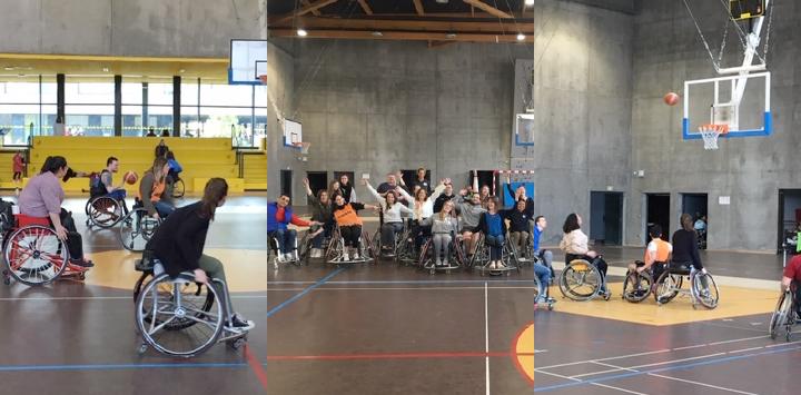 Journée de sensibilisation Sport et Handicap pour nos jeunes en service civique !