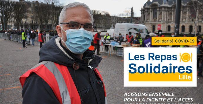 Lancement de la campagne #LesRepasSolidaires